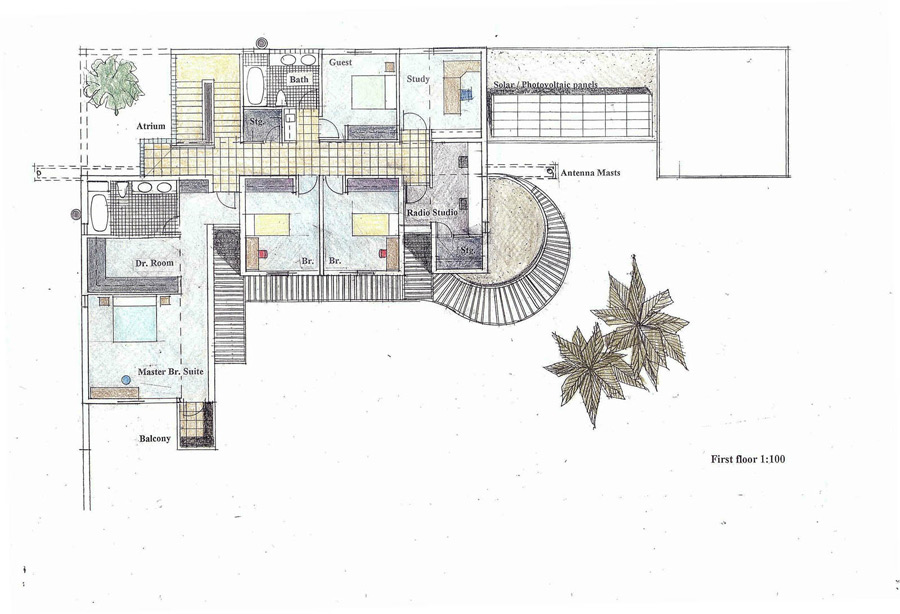 Architectural drawings theo david architects kal for Residential architectural drawings