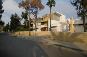 View from Gladstonos street, Nicosia